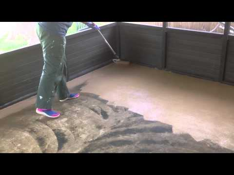Paint Your Concrete Patio   YouTube
