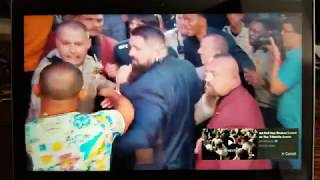 Crazy aftermath of fight. Khabib vs Mcgregor