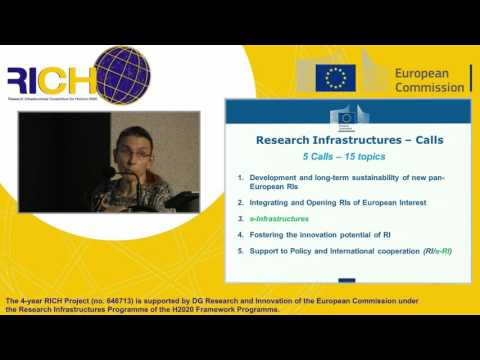 European Research Infrastructures: RICH Information day on WP2016-2017 - Part1