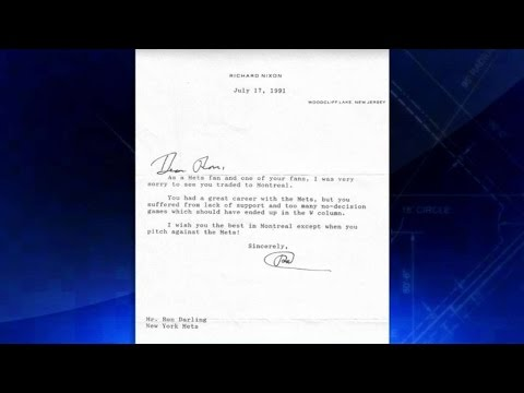 SD@NYM: Darling got letter from Nixon after trade