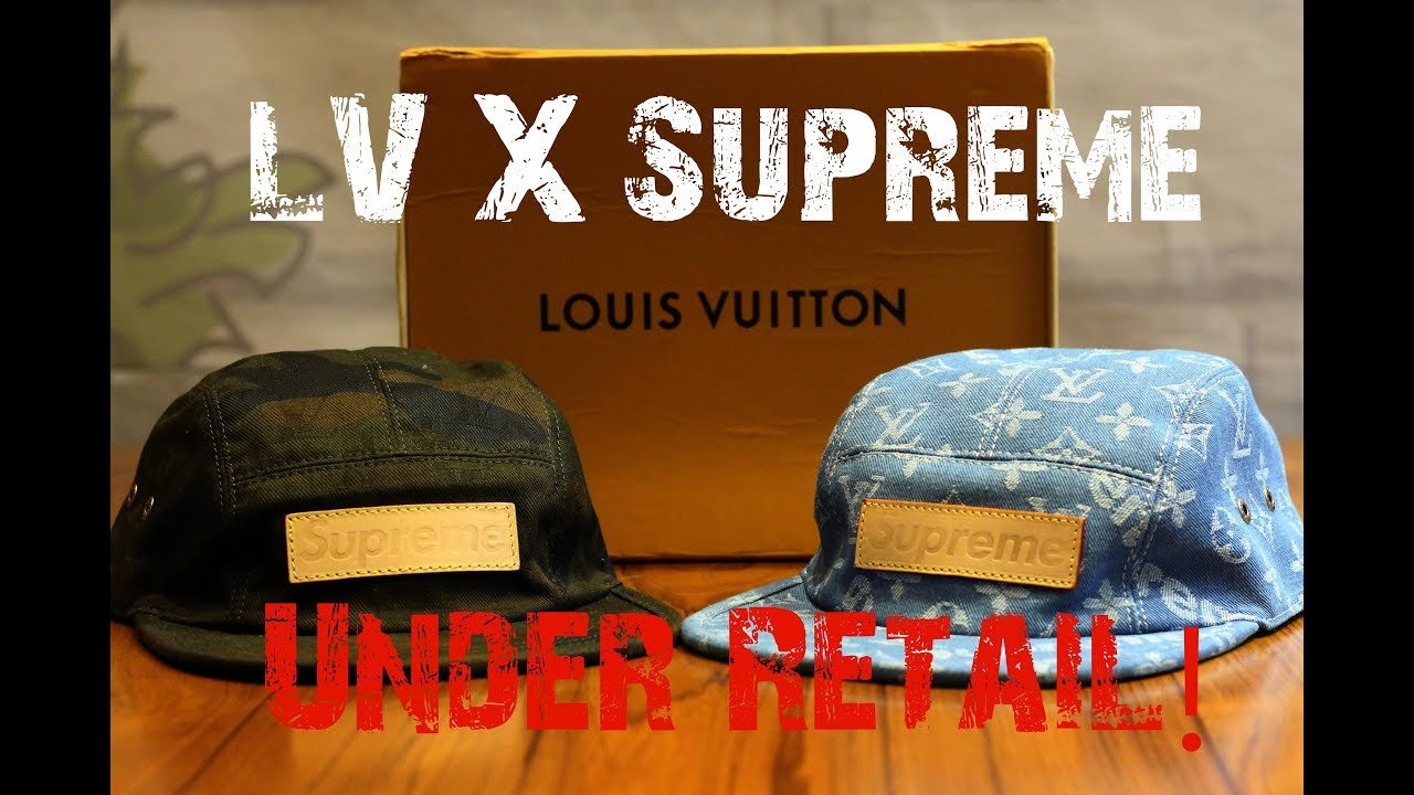 f312fbdf1ae I got SUPREME X LV for UNDER RETAIL!!! - YouTube