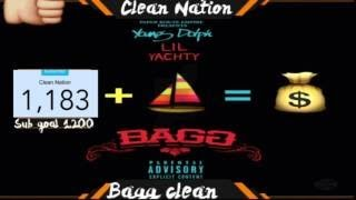 Young Dolph Featuring Lil Yachty Bagg [Clean / Radio Edit] Clean Nation