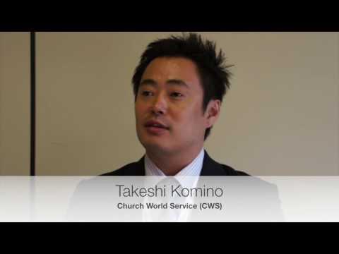 Takeshi Komino, Church World Service (CWS): How can humanitarian response be made more effective?