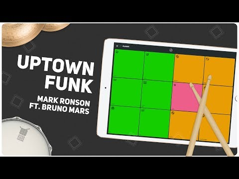 UPTOWN FUNK (Mark Ronson ft. Bruno Mars) - SUPER PADS DRUMS - Kit Classic