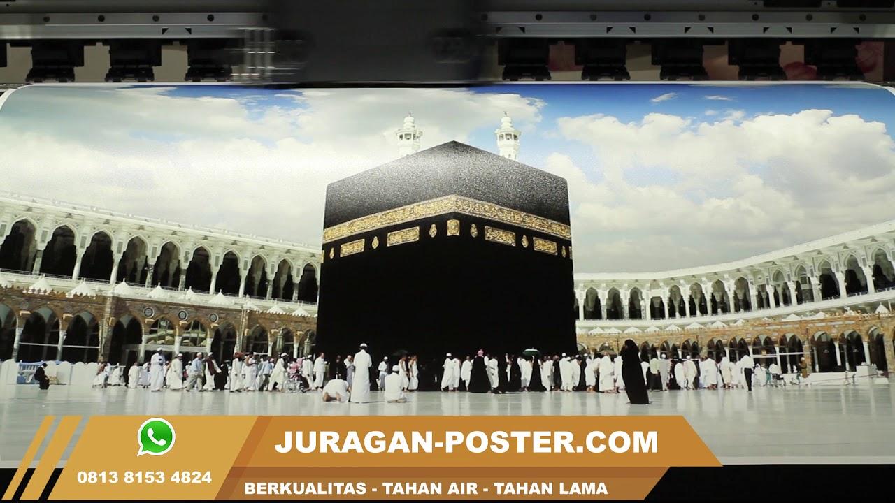 Jual Poster Islami Religi Kabah Mekah Masjidil Haram YouTube