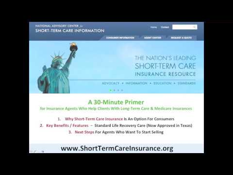 Standard Life Recovery Care Short-Term Care Insurance - Part 1