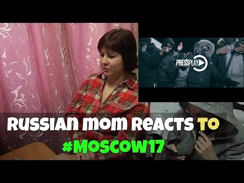 RUSSIAN MOM REACTS to MOSCOW 17 (REACTION) #Moscow17