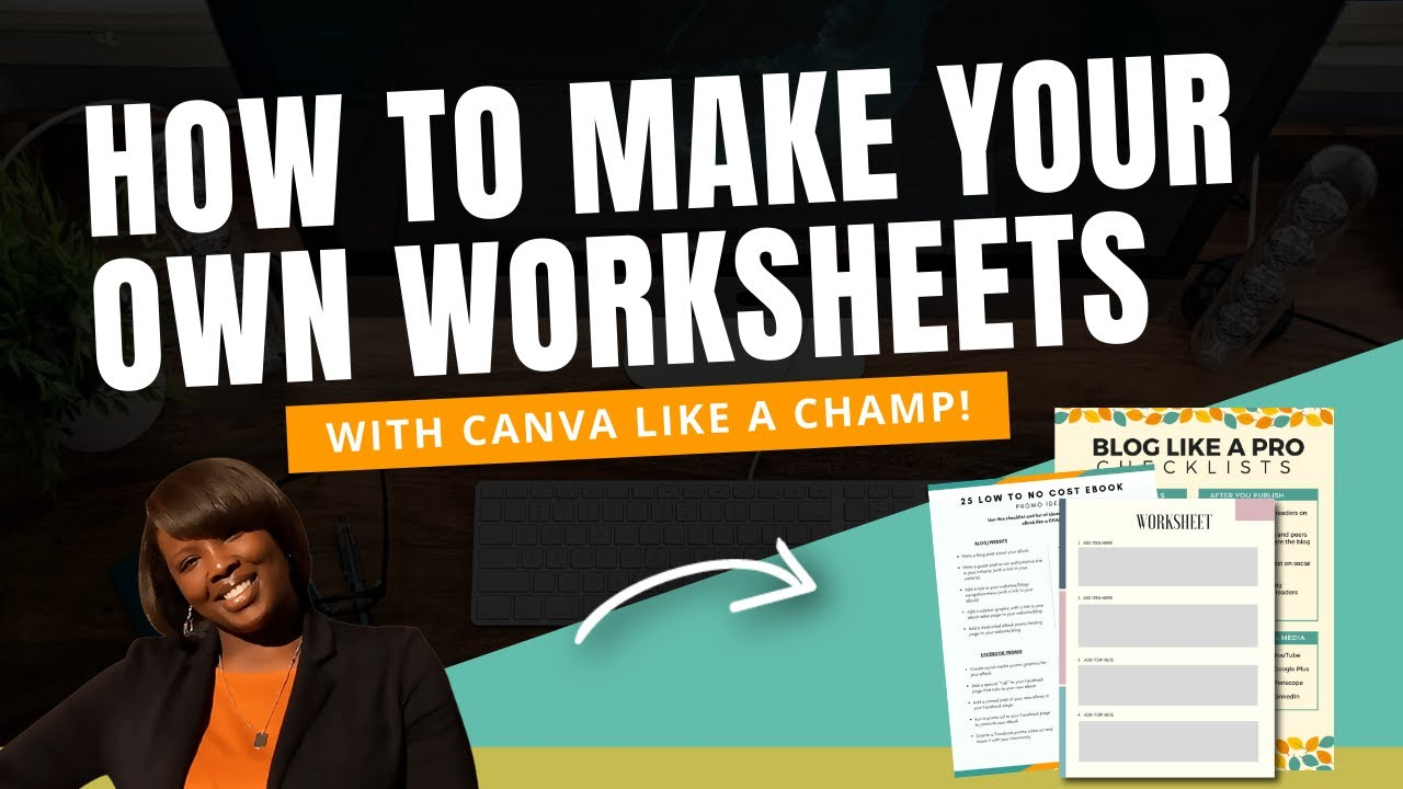 Canva for Work Tutorial: How to Make Your Own Gorgeous Worksheets ...