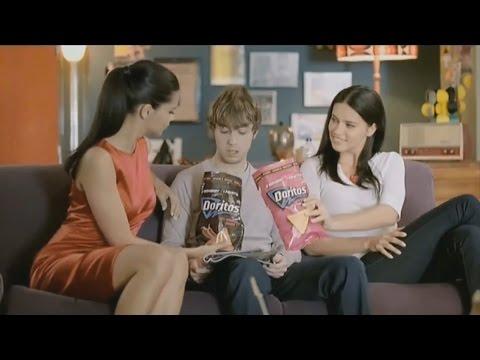 Adriana Lima - Straight Line Stitch Doritos Ads HD