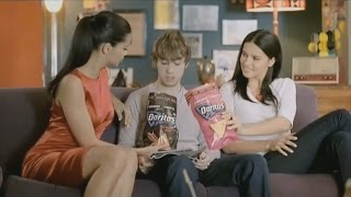 Adriana Lima - Straight Line Stitch Doritos Ads HD