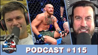 WEIGHING IN #115 | POIRIER FINISHES MCGREGOR | CHANDLER WINS IN DEBUT | KHABIB CONFIRMS RETIREMENT?