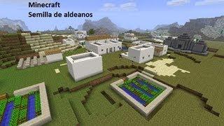 Minecraft- Semilla aldea