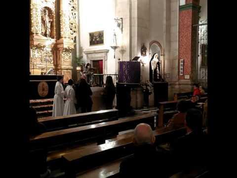 Imposición ceniza Iglesia Asunción Jódar