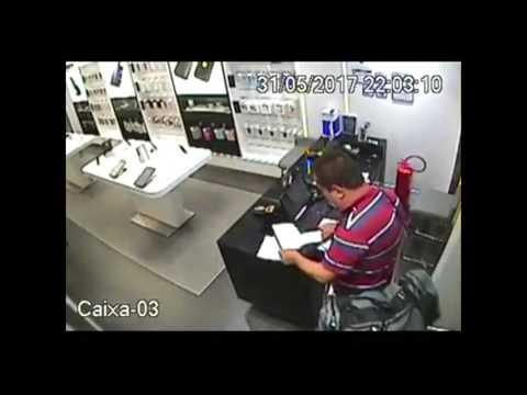 Samsung é assaltada no São Luís Shopping