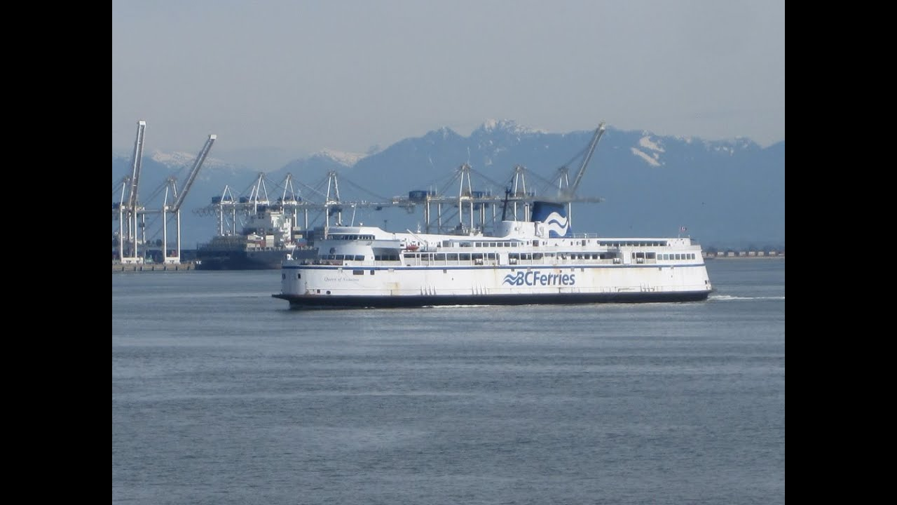 BC Ferries Tsawwassen To Long Harbour Queen Of Nanaimo