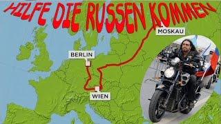 """Hilfe die Russen kommen! Der harte Weg der der russichen """"Nachtwölfe"""""""