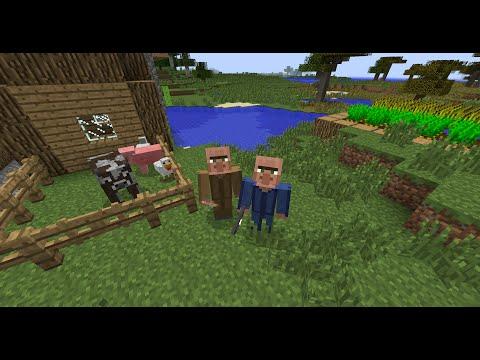 minecraft helpful villager