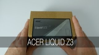 Acer Liquid Z3 Unboxing & First Impressions