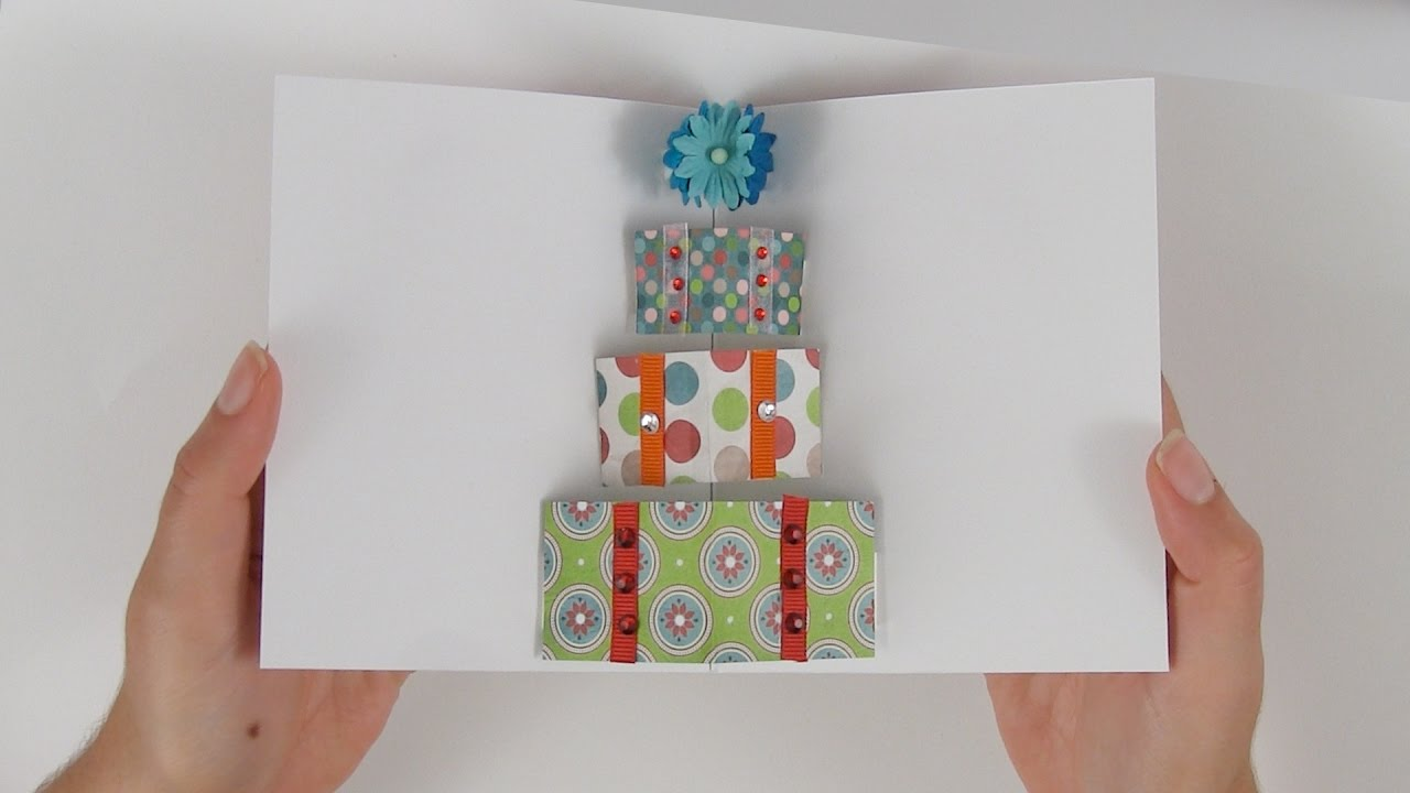 How To Make A Pop Up Card With Gift Boxes