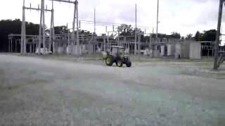 boom sprayer bare ground weed control