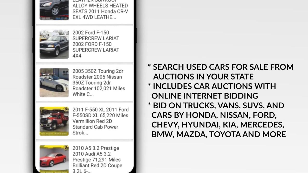 Online Public Car Auction >> Public Auto Auctions App 2 0 Beta Find Cheap Used Cars For Sale