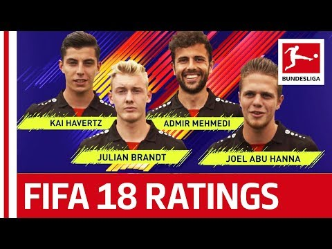 EA SPORTS FIFA 18 - Bayer Leverkusen Players Rate Each Other: Kai Havertz, Julian Brandt & More
