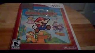 Super Paper Mario (Wii) Unboxing