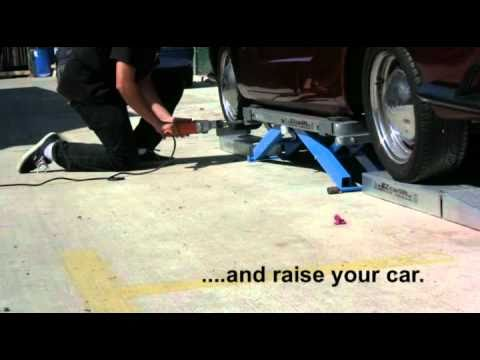 EZcarlift - using Drive Over Kit