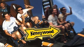 Kennywood Vlog - 7.16.19 - Front Row on Steel Curtain w/ RampagingRex + XScreamThrills!