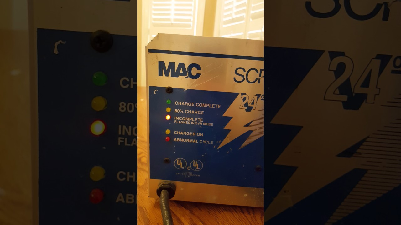 How To Check A Relay >> Testing MAC SCR Battery Charger SRC242017 24V VOLT 20A AMPS SMH SY50 Connector GOLF CART - YouTube