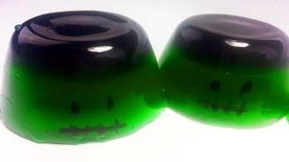 Frankenstein Halloween Jello Jigglers - How To