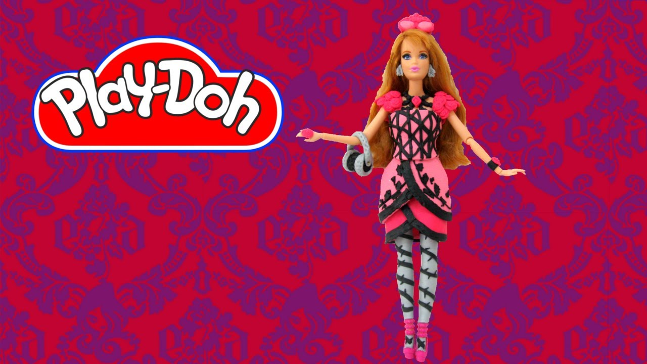 How To Make Midge Play Doh Dress Inspired By Briar Beauty