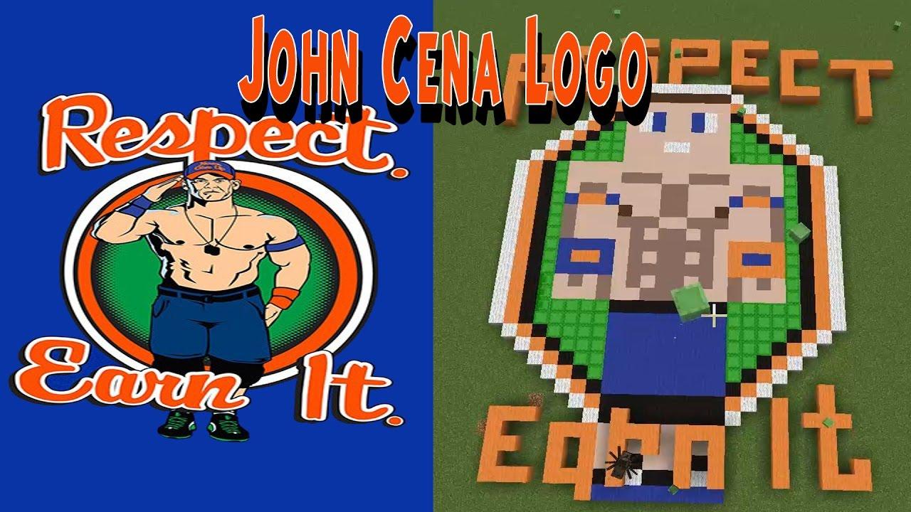 WWE John Cena 2017 Minecraft Logo - YouTube