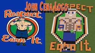 WWE John Cena 2017 Minecraft Logo