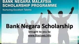 Bank Negara Scholarship