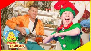 12 Days of Christmas | Kids Songs | The Mik Maks | Dancing Santa