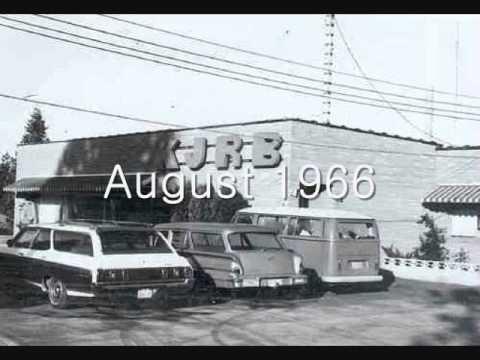♪ KNEW & KJRB Spokane Radio Jingles  1950s & 1960s ♫