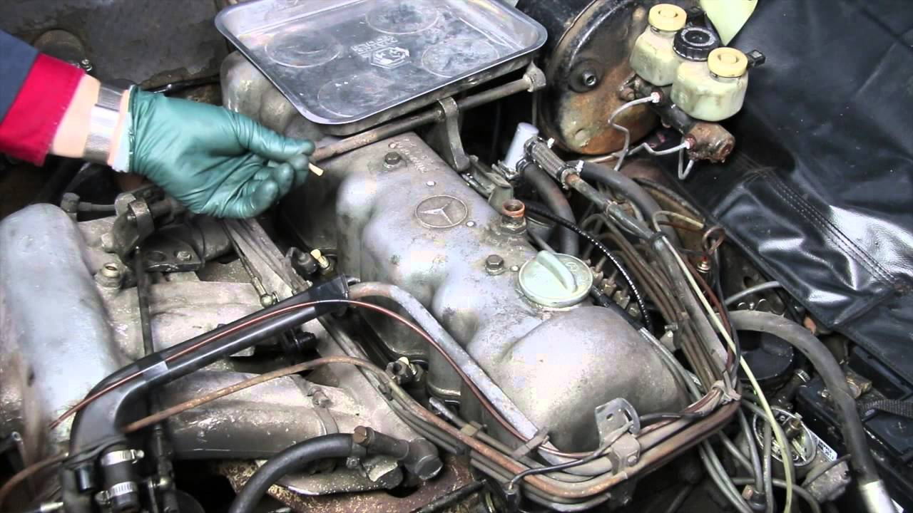 Mercedes W113 280sl Pagoda Rescue Part 7 Fuel Injector