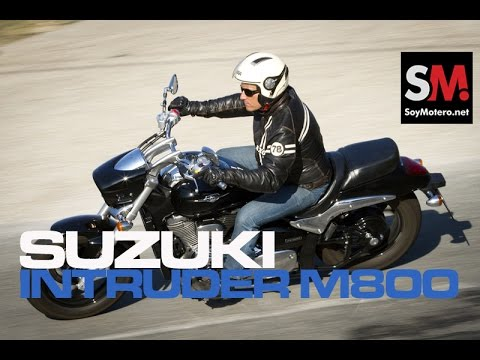 suzuki intruder m800 2015 prueba custom youtube. Black Bedroom Furniture Sets. Home Design Ideas
