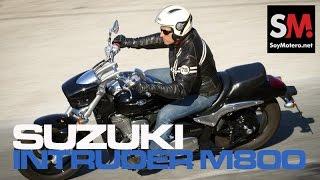 Suzuki Intruder M800 2015: Prueba Custom