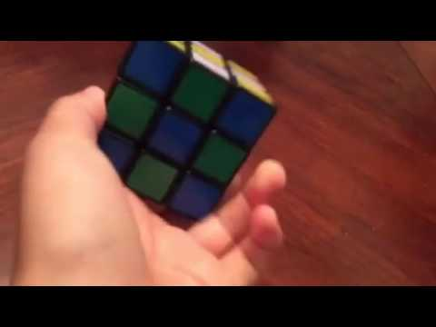 How to make the checker board on the Rubik's cube!