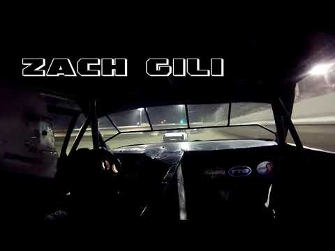 IN car cam of Zach Gili at highland Speedway 4-6-19