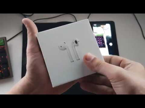 b68f77db7fb Apple Air Pods with iPhone X - YouTube
