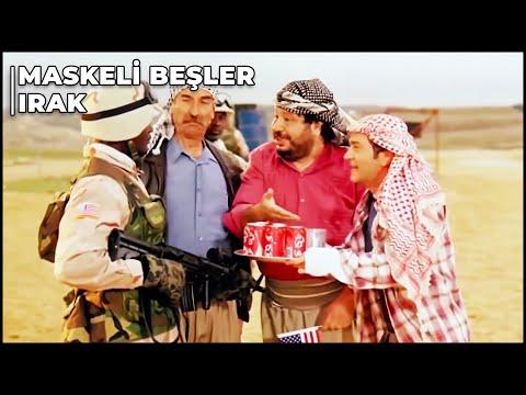 Maskeli Beşler Irak - Gözlerimiz Yollarda Kaldı | Türk Komedi Filmi