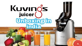 Kuvings Professional Cold Press Whole Slow Juicer (B1700) || Unboxing || India