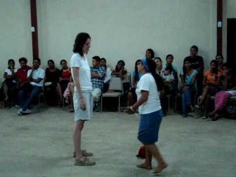 Vision Nicaragua Youth Event Christ Drama