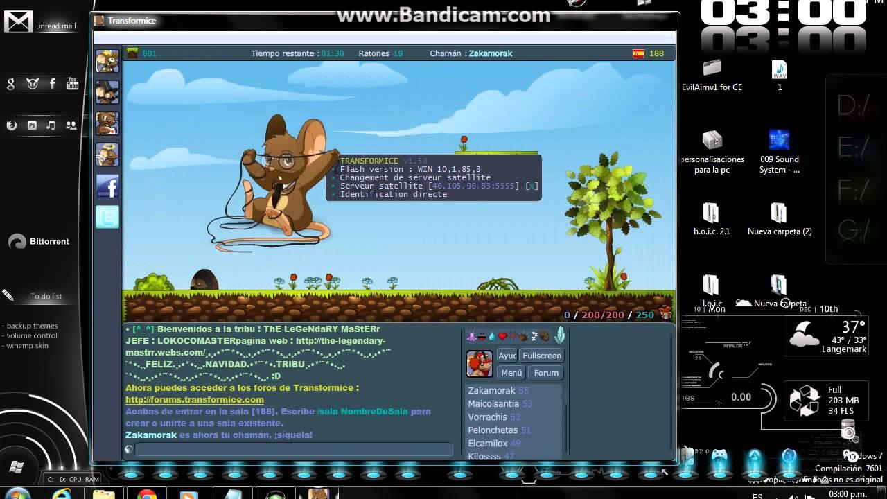 hacker para transformice 2012