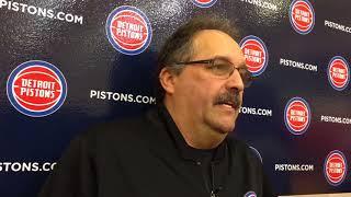 Pistons' Stan Van Gundy on Michigan-Villanova NCAA title game