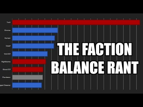 [WoW] The Faction Imbalance Rant