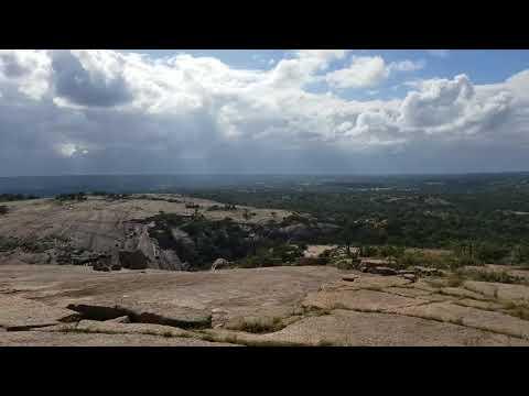 Enchanted Rock, Texas, Beautiful backdrop, Top of Mound